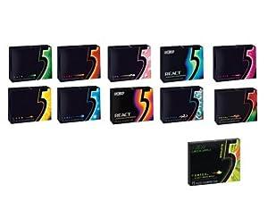 Wrigley's 5 Gum -- COBALT/LUSH/RAIN/ELIXIR/PRISM/FLARE ...