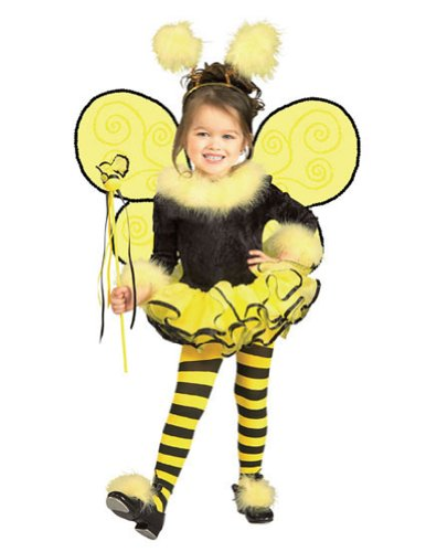 Baby-Toddler-Costume Bumblebee Toddler Costume Halloween Costume - 2T-4T