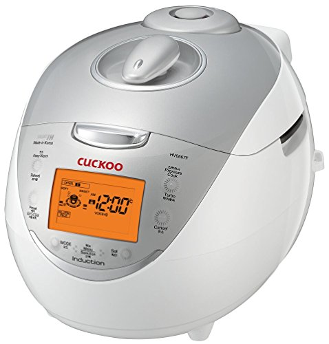 Cuckoo CRP-HV0667F IH Pressure Rice Cooker, 6 Cup, Silver (Electric Cooker Ih compare prices)