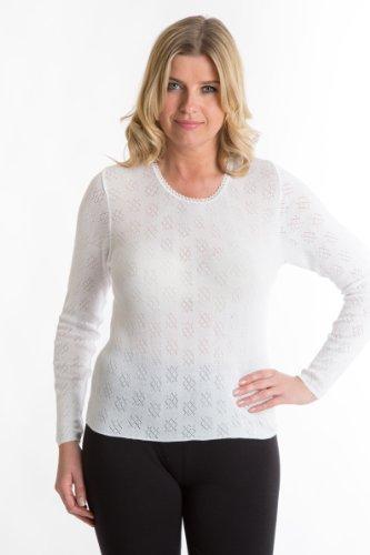 Senorita-tricot-thermique--manches-longues-chaud-sans-couture-pour-du-confort-spcial-rapport-qualitprix-sensationnel