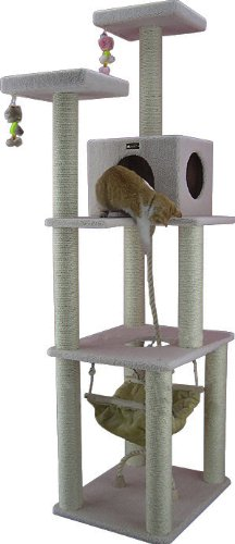 armarkat cat tree furniture condo height 70 inch to 75. Black Bedroom Furniture Sets. Home Design Ideas