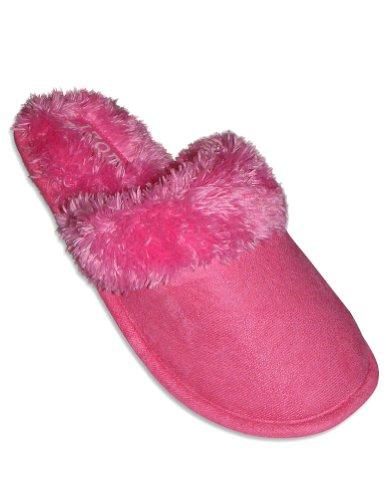 Cheap Izod – Ladies Slipper, Fucshia Pink 27594 (B0064DR59Q)