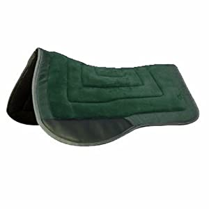 Intrepid International Western Saddle Pad, Hunter Green