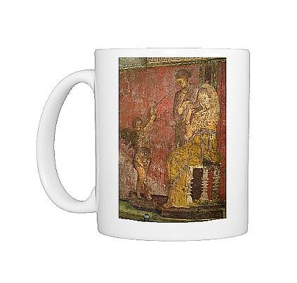Photo Mug Of Fresco At The Villa Dei Misteri From Robert Harding