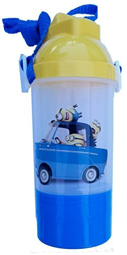 Despicable Me2 Rock & Sip Water Bottle With Snack Compartment - 1