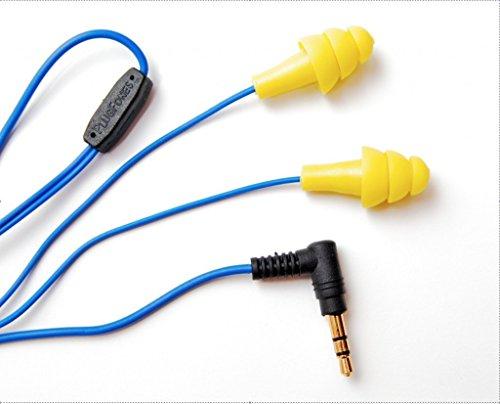 plugfones-1st-generation-yellow-ear-plug-earbuds