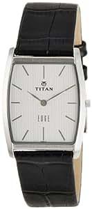 Titan Edge Analog Silver Dial Men's Watch - NE1044SL01