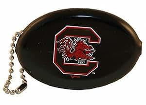 NCAA South Carolina Gamecocks Keychain Squeeze Coin Purse