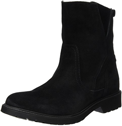 Buffalo London 8036 Suede, Stivaletti Donna, Nero (Black 01), 38 EU