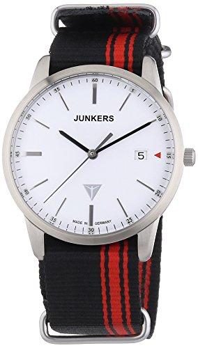 Junkers Watches 6C38-1 - Orologio da polso uomo, tessuto, colore: multicolore
