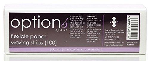 ruche-100-x-nouveau-papier-souple-professionnel-epilation-bandes-de-cire-jambes-corps-bikini-visage-