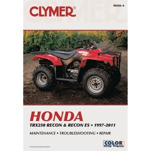 """Clymer Honda Trx250 Recon And Recon Es 1997-2011 M446-4 """"Product Category: Winterizing/Repair Manuals"""""""