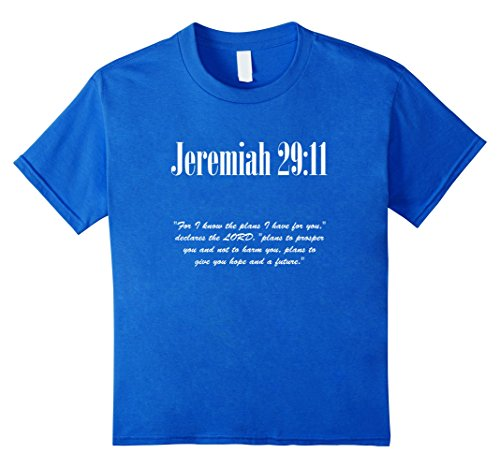 Jeremiah 29:11 Bible Verse Christian Faith t-shirt
