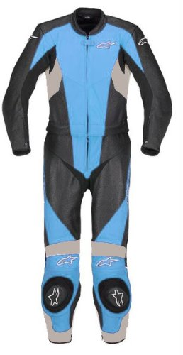 Alpinestars Stella Ladies Womens TX-1 Two 2 Piece Leather Race Suit SALE £399.99 UK 8 UK 10 UK 12 UK 14 SKY BLUE (EURO 44 UK 12)