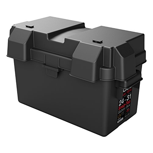NOCO HM318BKS Group 24-31 Snap-Top Battery Box for Automotive, Marine, and RV Batteries (Battery Box Vent compare prices)