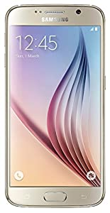 Samsung Galaxy S6 G920I Factory Unlocked Cellphone, 32GB, Platinum Gold