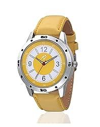 Yepme Adward Men's Watch - Yellow -- YPMWATCH1263