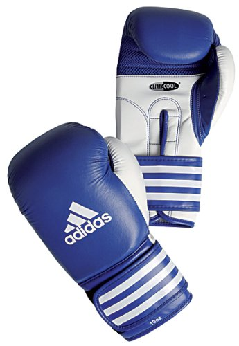 Adidas Ultima Competition Boxing Gloves ClimaCool - Blue/White - 16oz