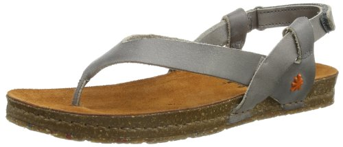 Art Womens Creta Toe Post Espadrille Flats 446 Grey 6 UK, 39 EU