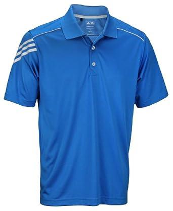 Buy Adidas Golf Mens Climacool 3-Stripes Polo Shirt by adidas
