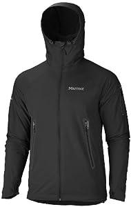 Marmot Herren Kapuzenjacke Vapor Trail, black, S, 80660-001-3