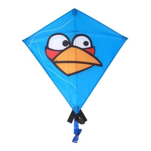 X Kites Angry Birds Nylon Diamond Kite Blue Bird - 1