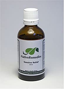 Gasolve Relief (50ml) - All Natural Remedy for Preventing Digestive Gas, Flatulence, and Belching