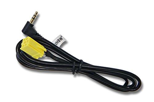 adaptateur-auxiliaire-vhbw-pour-smart-fortwo-typ-451-a-partir-de-2007
