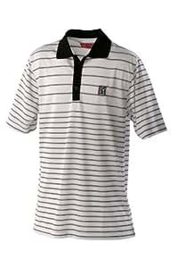 PGA Tour Albany Polo pour homme Blanc blanc Small