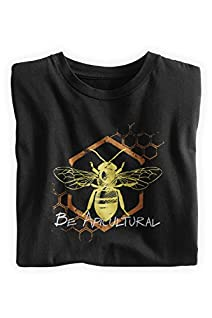 Green 3 Apparel Men's Organic USA-Made Be Apicultural Tee