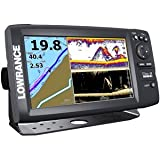 Lowrance 000-12181-001 Elite-9 CHIRP Fishfinder/Chartplotter with US Basemap, 83/200KHz CHIRP and 455/800KHz DownScan Transducer