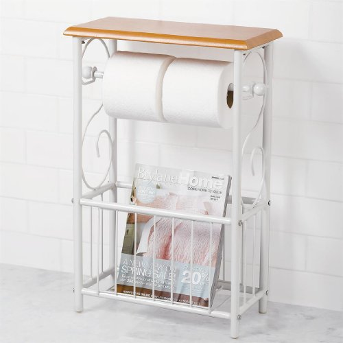 Brylanehome Scroll Toilet Paper/Magazine Holder