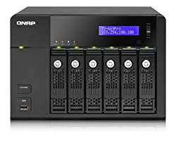 Qnap Intel Atom D2700 2.13GHz/1GB RAM/2GbE/6SATA3/2eSATA/USB3.0/6-Bay Tower Turbo NAS Server for SMBs (TS-669-PRO-US)