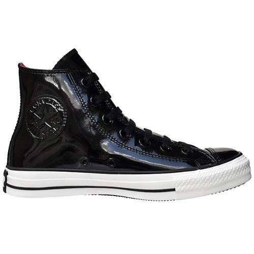 Converse All Star Chuck Taylor Chucks - CT Leather Leder Patent Hi Schwarz Lack Gr.: 3,5 / 36