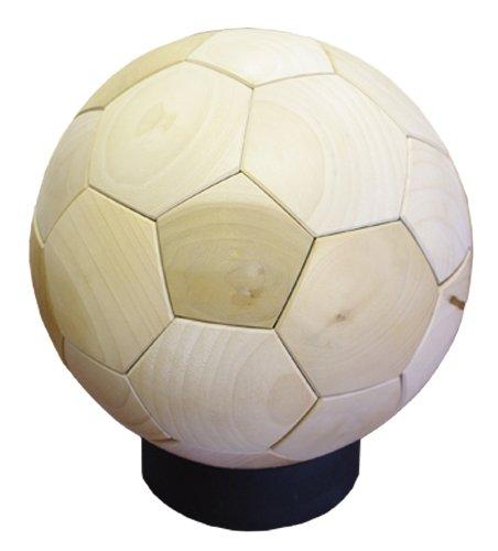 WOOD SOCCER BALL ポプラ 3号珠