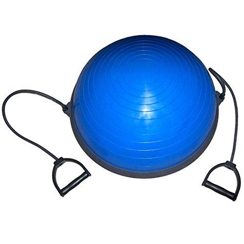 PILATES BALL Palla PRO Trainer Bosu per Ginnastica Yoga Allenamento Completo