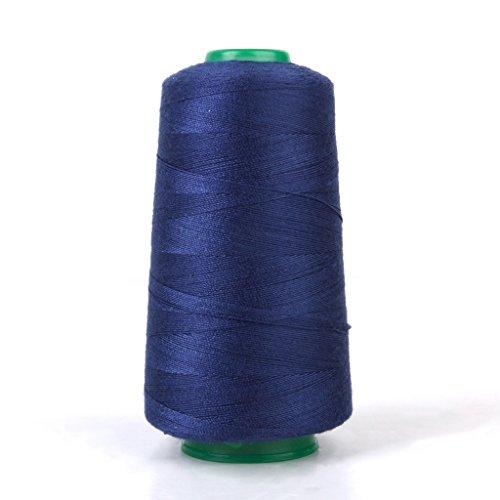 Spool von Polyester Jeans Nähen Gewinde für Nähmaschine 20S / 2 (Marineblau)