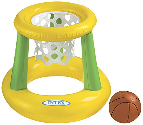 Intex Floating Hoops Basketball Game Colors May Vary front-1016210