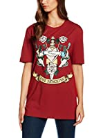 Love Moschino Camiseta Manga Corta  Rojo ES 40 (IT 44)