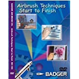 Badger Airbrush Techniques Start to Finish DVD by Badger Airbrush