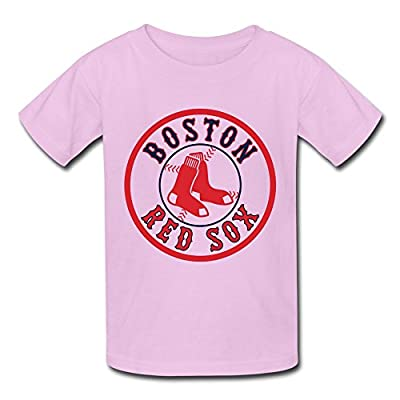 Kid's Boston Red Sox Cornhole Decal T-shirt