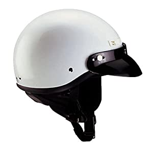 Cyber Helmets U-1 Solid Helmet , Size: Sm, Primary Color: White, Distinct Name: White, Helmet Category: Street, Helmet Type: Half Helmets, Gender: Mens/Unisex 643211