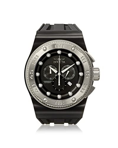 Invicta Men's 12289 Akula Black Polyurethane Watch