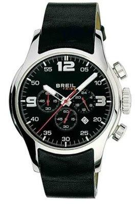 Breil TW0370 - Orologio da polso da uomo, cinturino in pelle