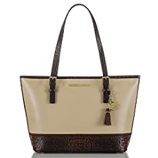 Medium Asher Tote<br>Ivory Summer Tuscan Tri-Texture