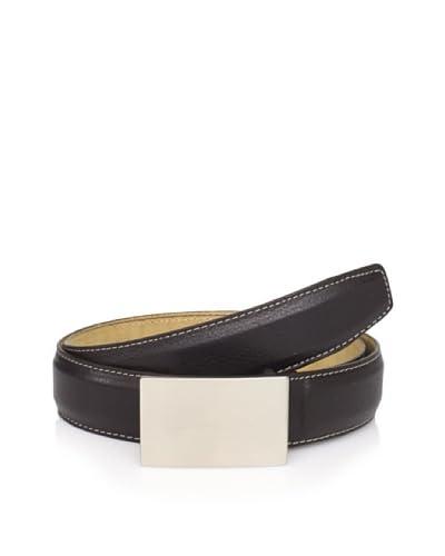 Joseph Abboud Men's Plaque Belt