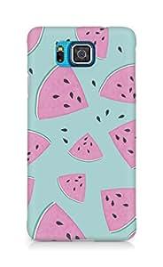 AMEZ designer printed 3d premium high quality back case cover for Samsung Galaxy Alpha (watermelonn)