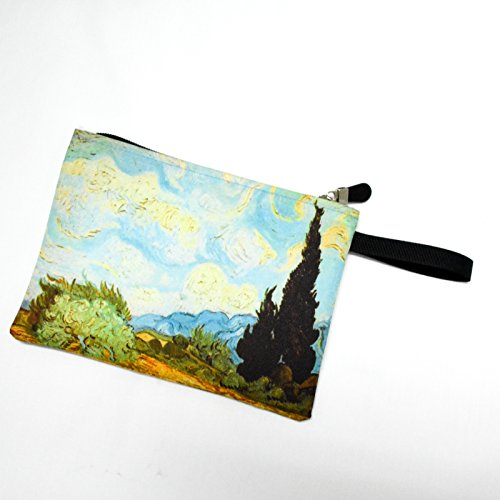 Van Gogh the Wheat Field with Cypresses Bag Pouch152 (Doctor Who Trash Can compare prices)