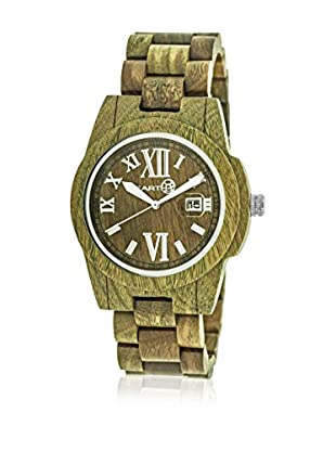 Earth Wood Reloj con movimiento cuarzo japonés Unisex Heartwood 43.0 mm
