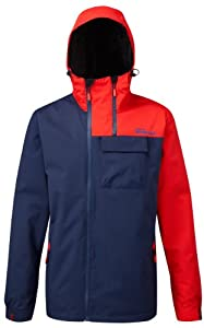 Westbeach Men's Tokum Snowboard Jacket  - Heli Red, Large (Old Version)